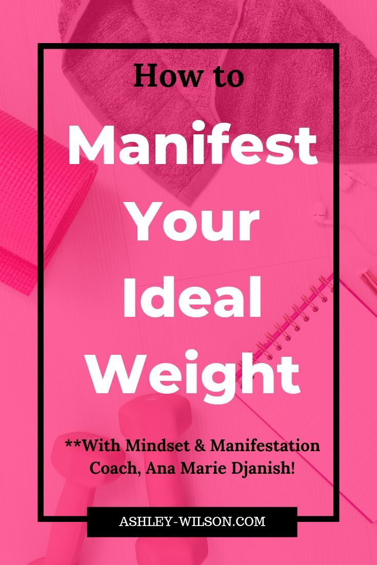 Manifesting your ideal weight how to manifest ideal