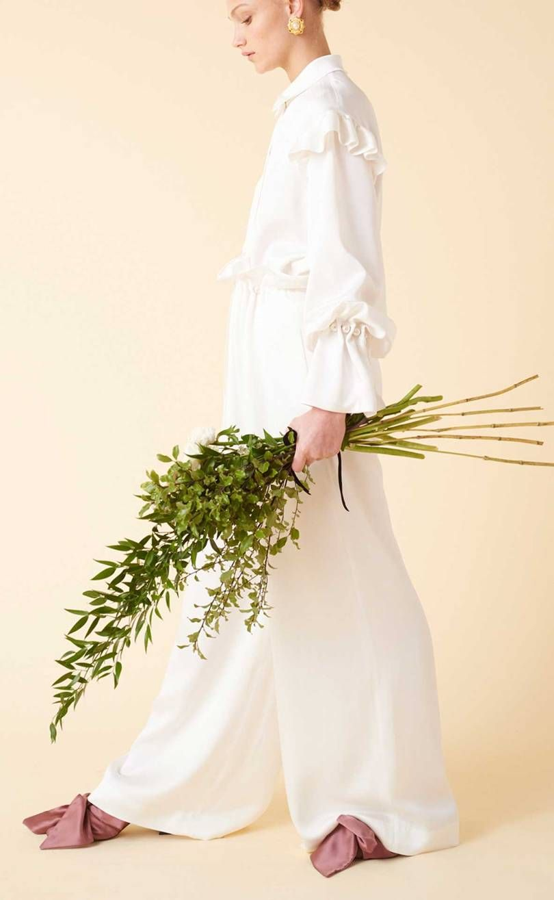 Lace dress zalora may 2019 Mother Of Pearl Debuts A Sustainable Wedding Dress Line  MINIMAL