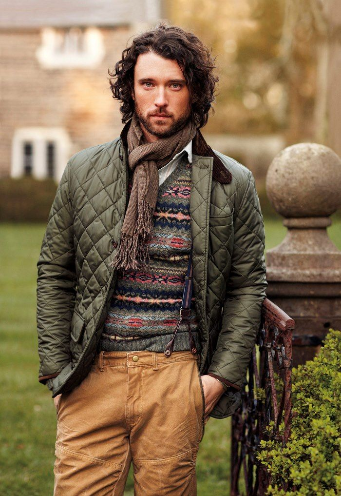 Ralph Lauren Polo: Quilted Jacket, Cargo Trousers, Fair Isle ...