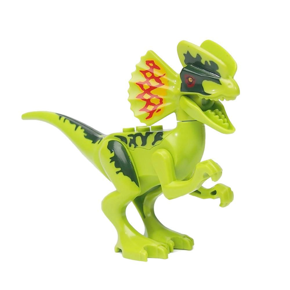 Single Sale Movie Legoings Jurassic Figures Building Blocks Models Park Fuse Box Toys Of Dinosaurs World