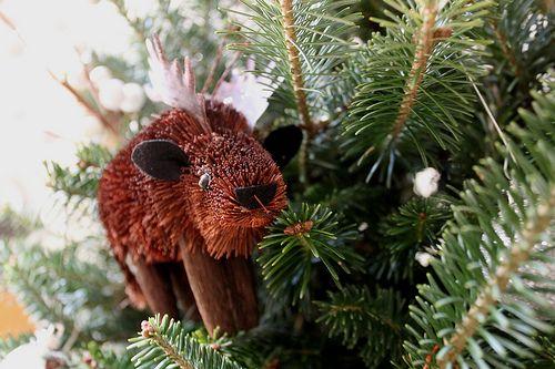 Moose buri ornament Ornaments Pinterest Ornament - moose christmas decorations