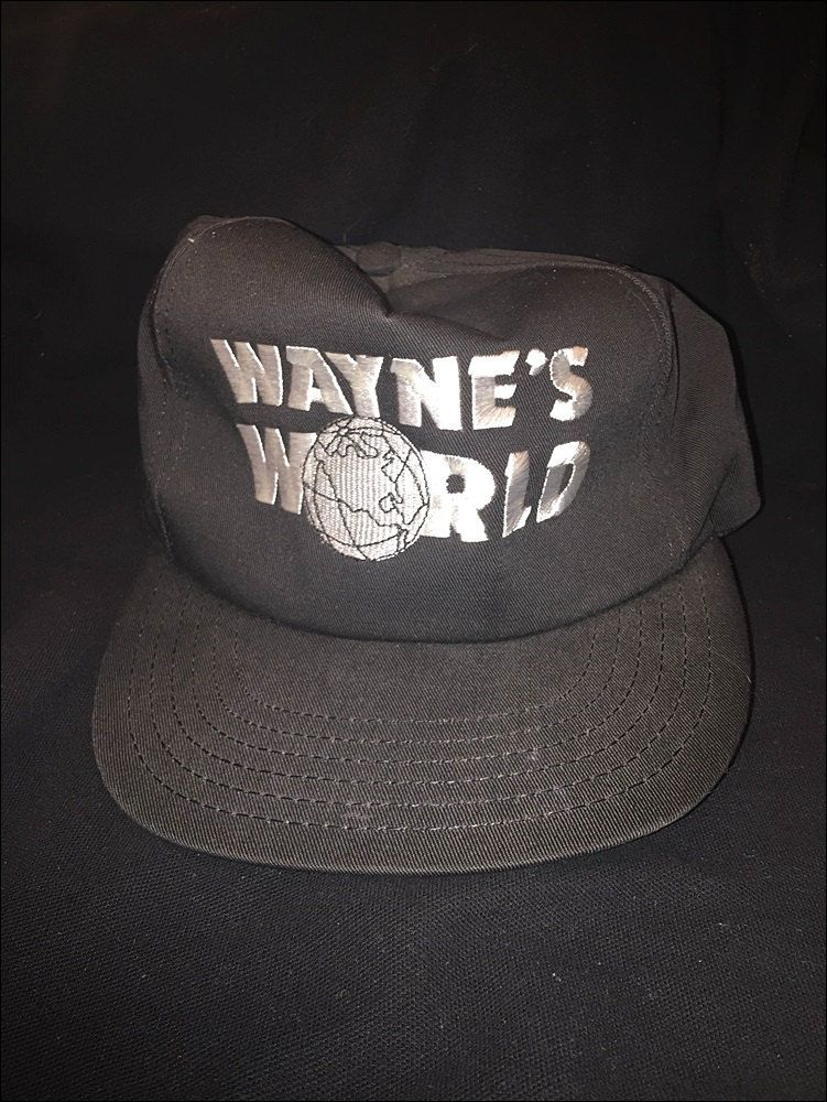 f6105748 Vintage Deadstock 90's SNL Waynes World Snapback Hat by JourneymanVintage  on Etsy
