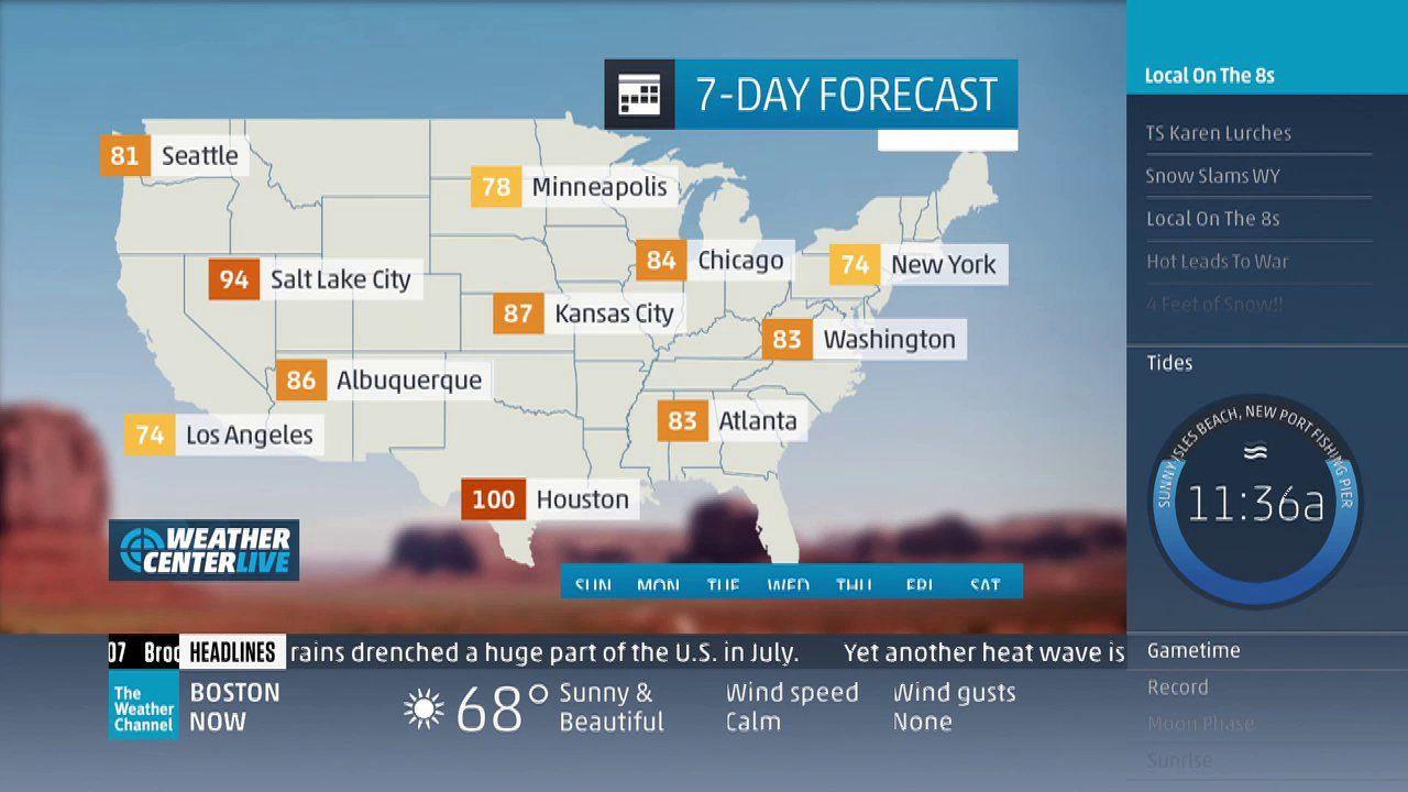 Primer Soprovoditelnoj Infografiki The Weather Channel Weather Weather News