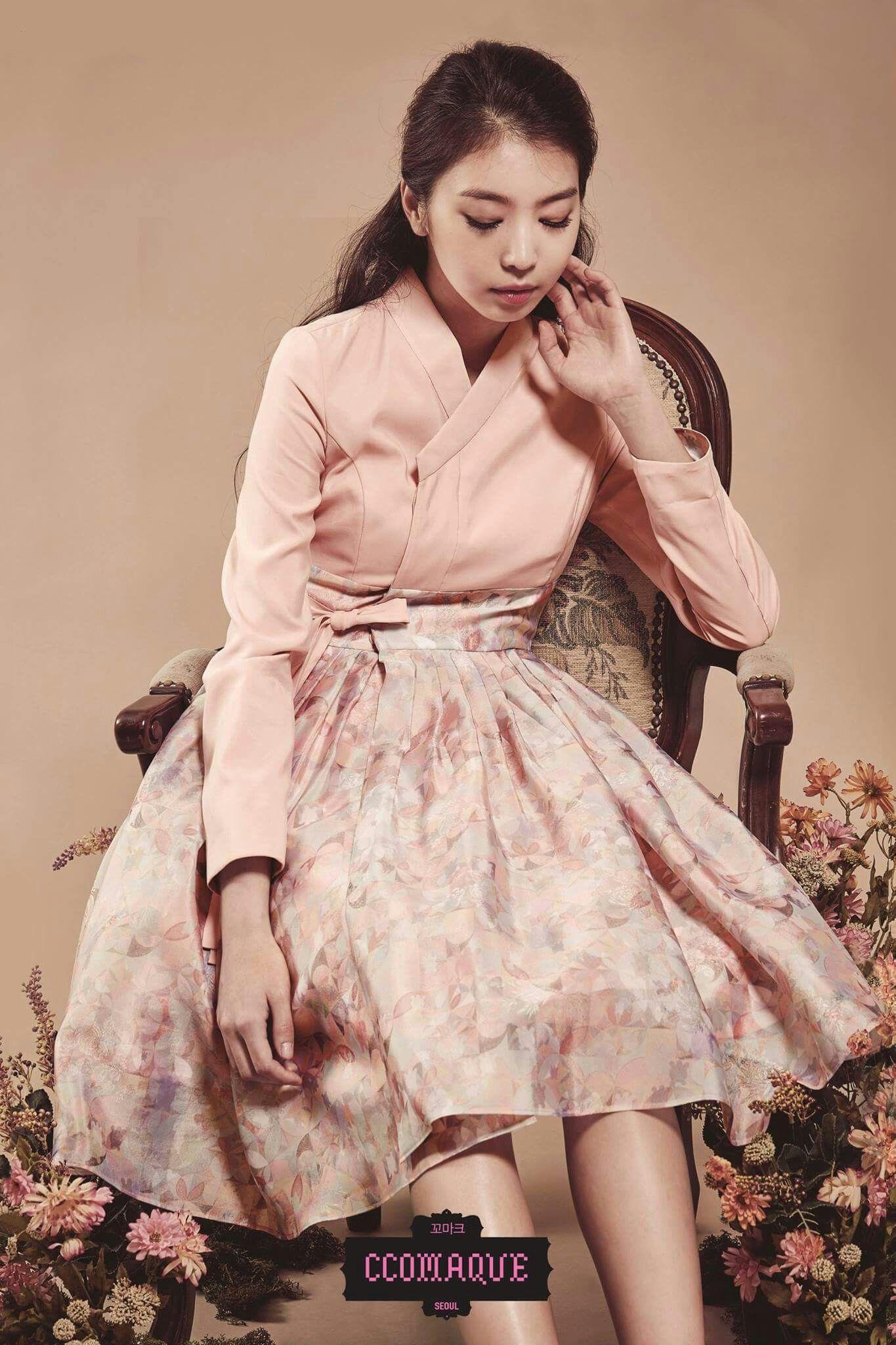 KOREAN HANBOK | Blouse-top | Pinterest | Camisas para mujer ...