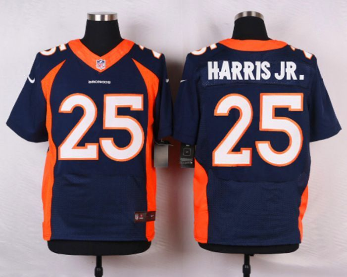 847139dd6 Men Denver Broncos 25 Chris Harris Jr Blue Elite Nike NFL Jerseys ...