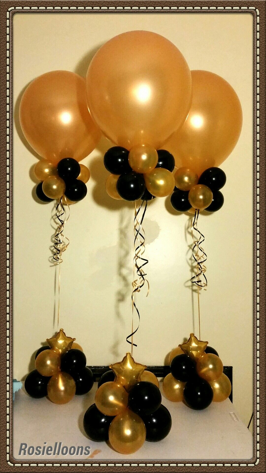Church anniversary church anniversary pinterest for Birthday balloon centerpiece ideas