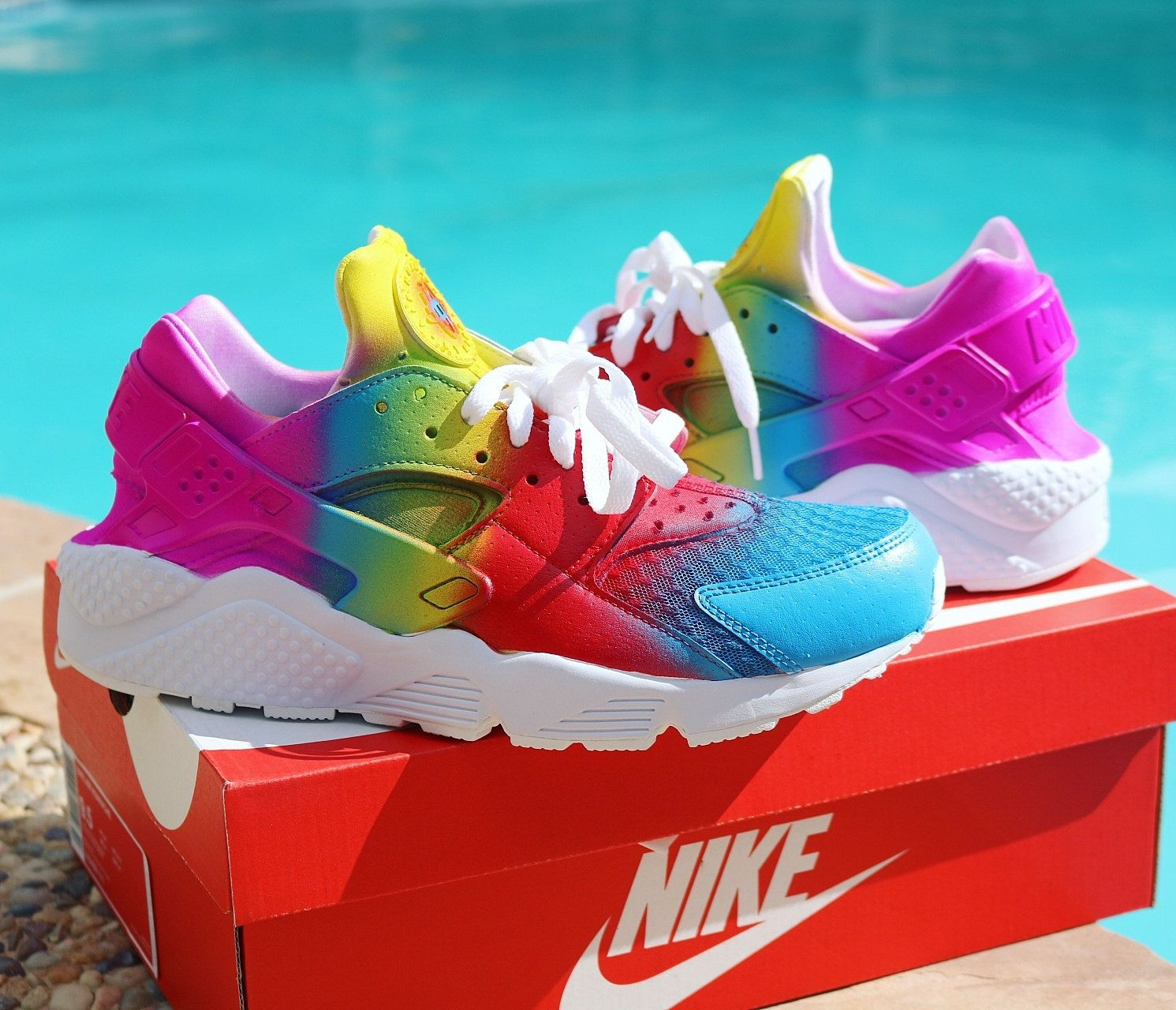 427fc62502 Custom Nike Air Huaraches 5-7 are boys 8-13 are men by DonnCustoms ...
