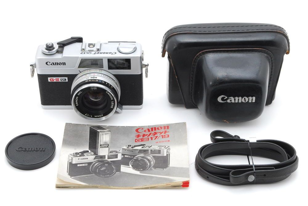 Appearance Mint Canon Canonet Ql17 Giii W Case Manual Strap From Japan 1406 Canon