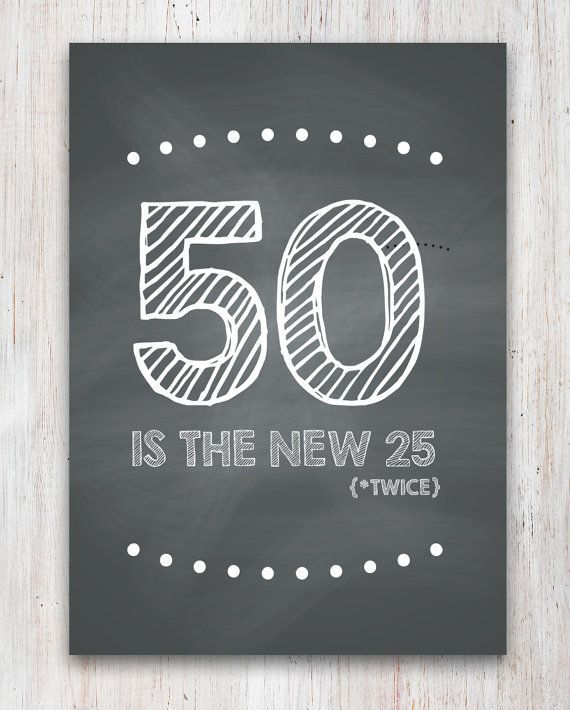 50 Year Old Birthday Party