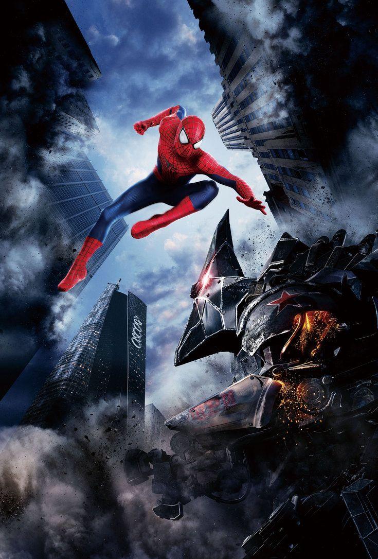 The Amazing Spider Man 2 Hi Res Textless Poster By Phetvanburton