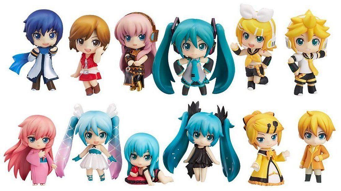 Vocaloid 3/'/' Meiko Nendoroid Petit Miku Selection Trading Figure Anime NEW