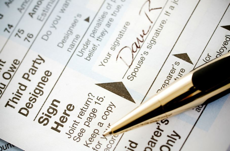 With W-2s and other tax forms now appearing in our mailboxes (or - personal financial statement forms