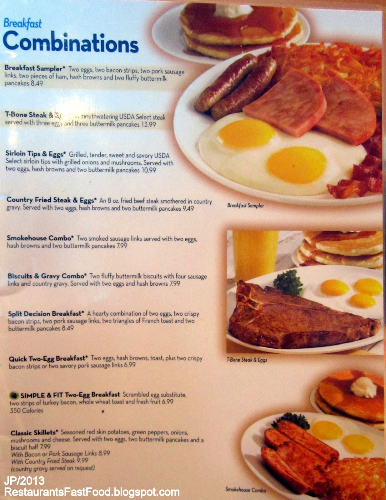 graphic regarding Ihop Printable Menu named Ihop menu take note i dont realize if this is a outdated menu! This is