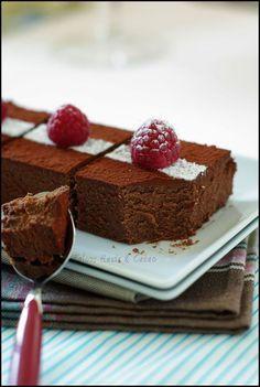 Fondant au chocolat plus que tentant à la Ricotta