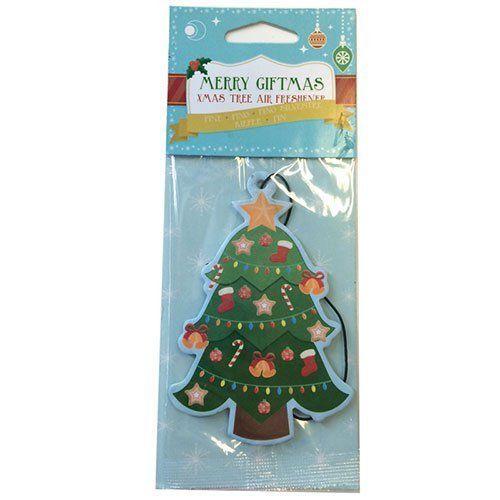 Pine Scented Christmas Tree Air Freshener Car Home Gym Locker Festa