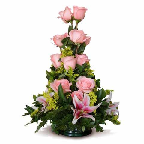 arreglos florales con rosas - Google Search bouquet Pinterest