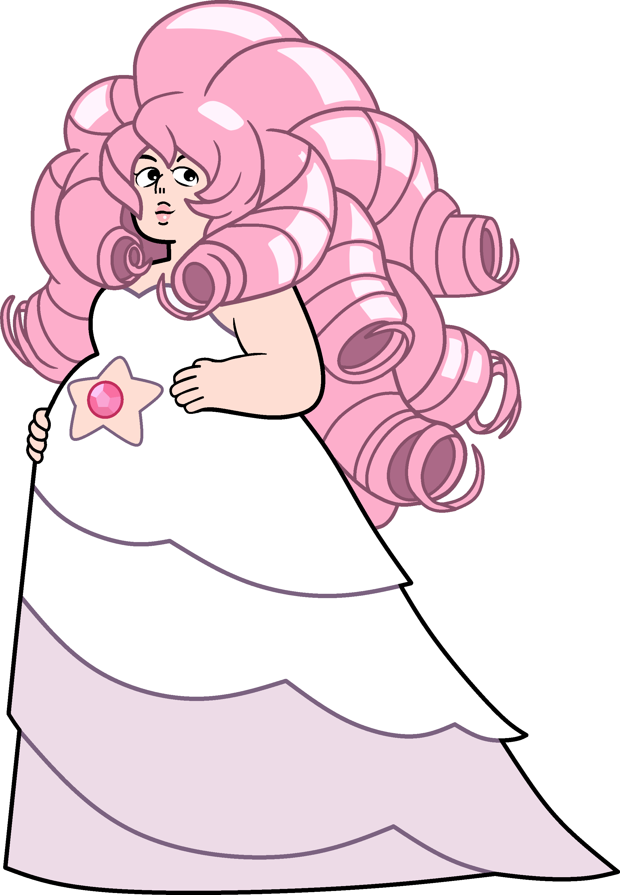 Image result for steven universe rose quartz pregnant