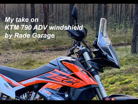 My Take On Ktm 790 Adventure Rally Windshield By Rade Garage Youtube Ktm Windshield Adventure