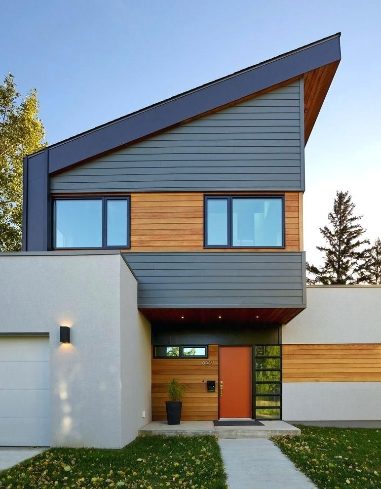 Contemporary Homes With Cedar Siding Modern Cedar Siding ...