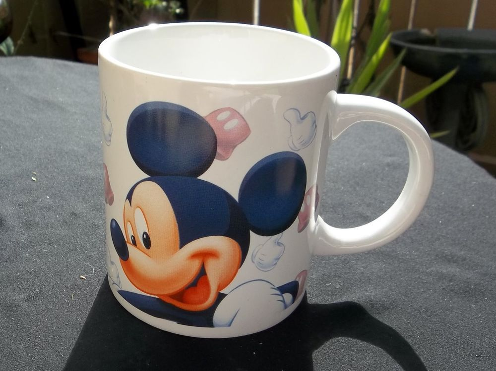 Disney's Mickey Mouse Coffee Mug Jerry Leigh Brand Cup #JerryLeigh