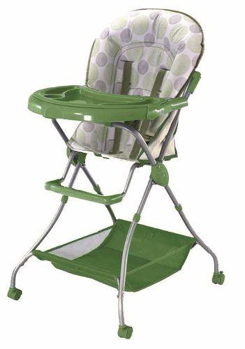 0e04b5dcc Silla de comer para bebe plegable color verde o naranja. | ARTÍCULOS ...