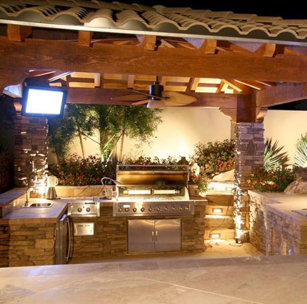 45 Awesome Outdoor Kitchen Designs For Your Summer Ideas