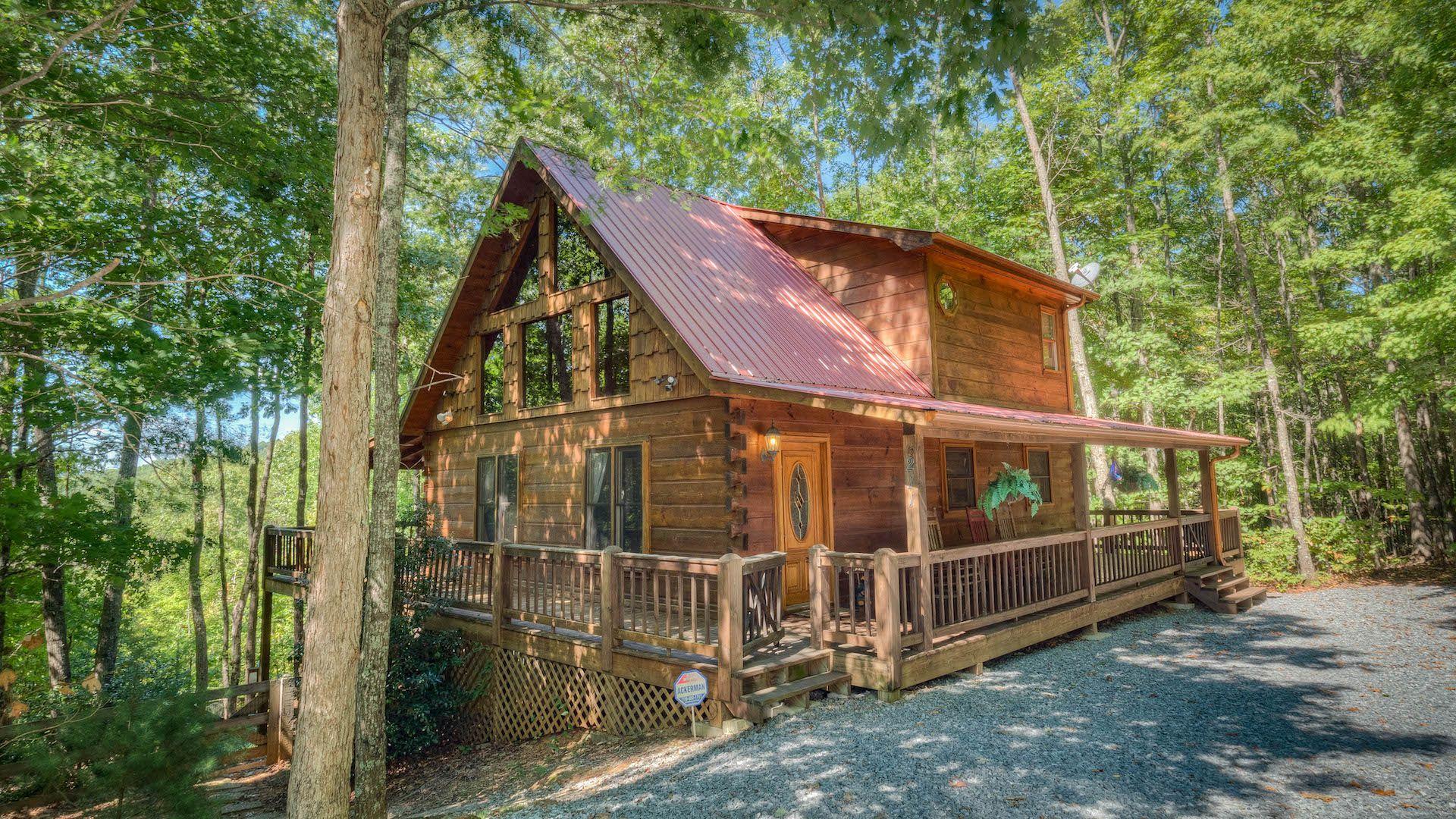 Romantic cabins in north georgia mountains