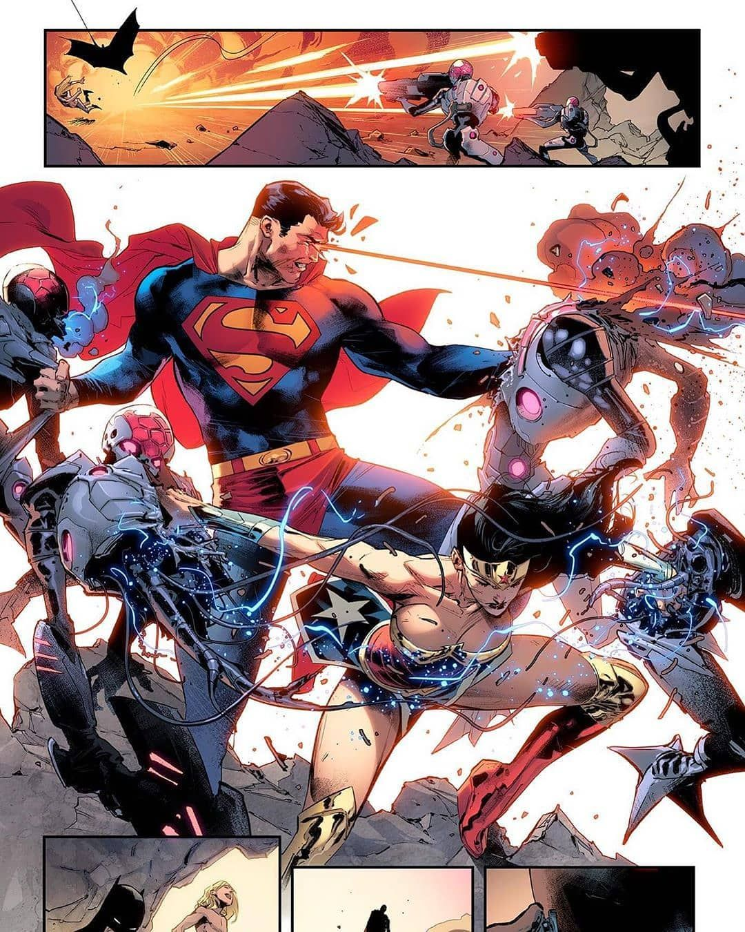 DC NM//NM Coipel Card Stock Variant Justice League #32 2019