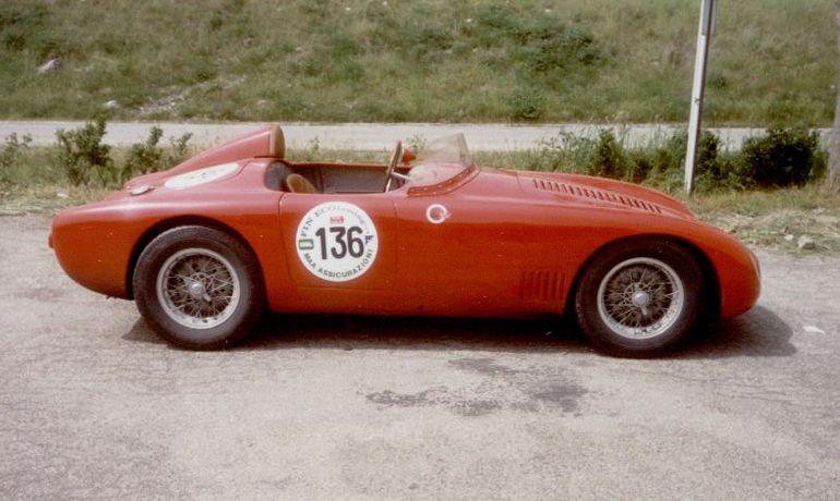 Osca Mt4 1155 Race Cars Racing Car Brands