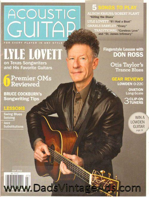Pin On Vintage Guitar Magazines