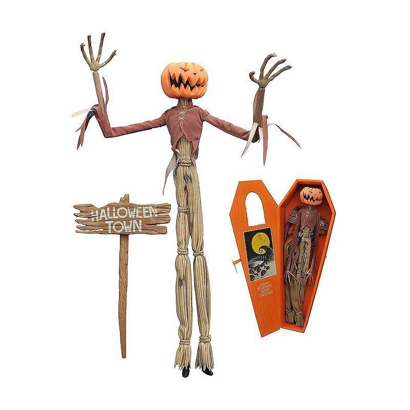 Nightmare Before Christmas Pumpkin King Jack Coffin Doll by Diamond