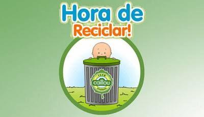 ✔ Juego: Recicla con Caillou - Clan TV - RTVE.es
