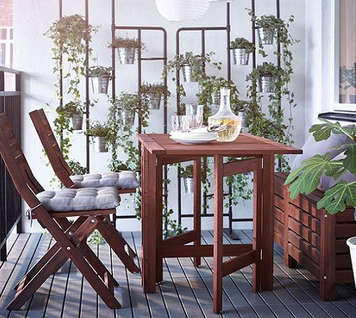 Pin de begui en casa pinterest mesa de jard n for Sillones de balcon