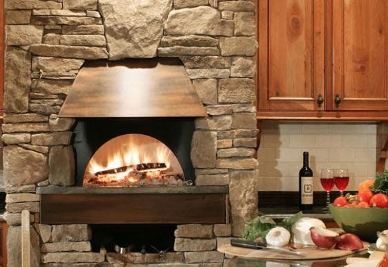 Outdoor Pizza Oven And Fireplace Diy Backyards