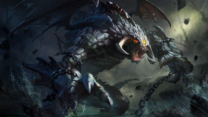 Dota 2 Roshan High Definition Wallpaper 1920 1080 Defense Of The