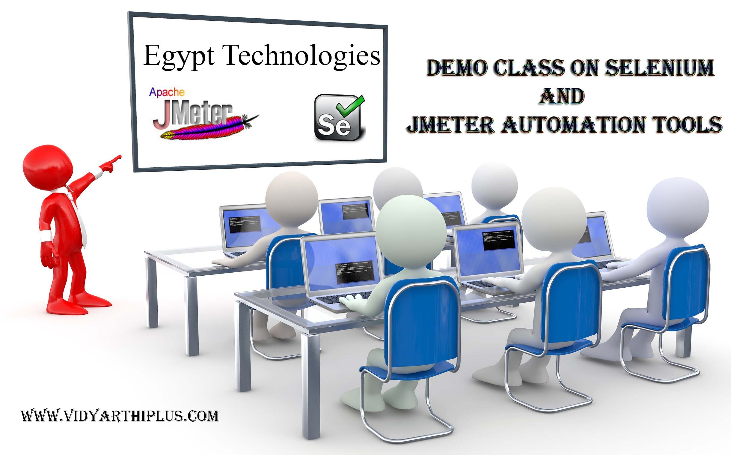 Demo Class on Selenium and JMeter Automation tools 2014