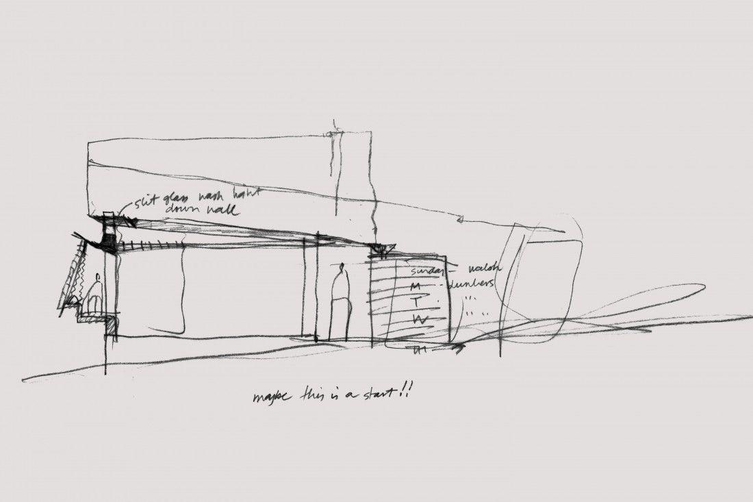 modern home architecture sketches. Fine Modern Modern House Walsh House By Glenn Murcutt  Architecture SketchesKangaroo  On Home Sketches
