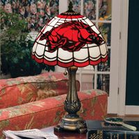 Lamp Razorback Arkansas Razorbacks Stained