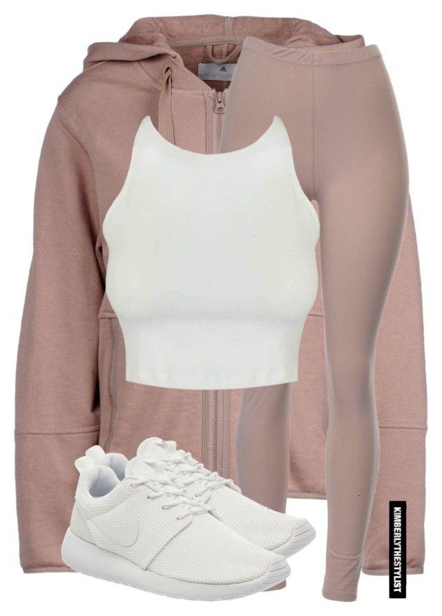 U0026quot;Untitled #2389u0026quot; by whokd liked on Polyvore featuring adidas NIKE womenu0026#39;s clothing womenu0026#39;s ...