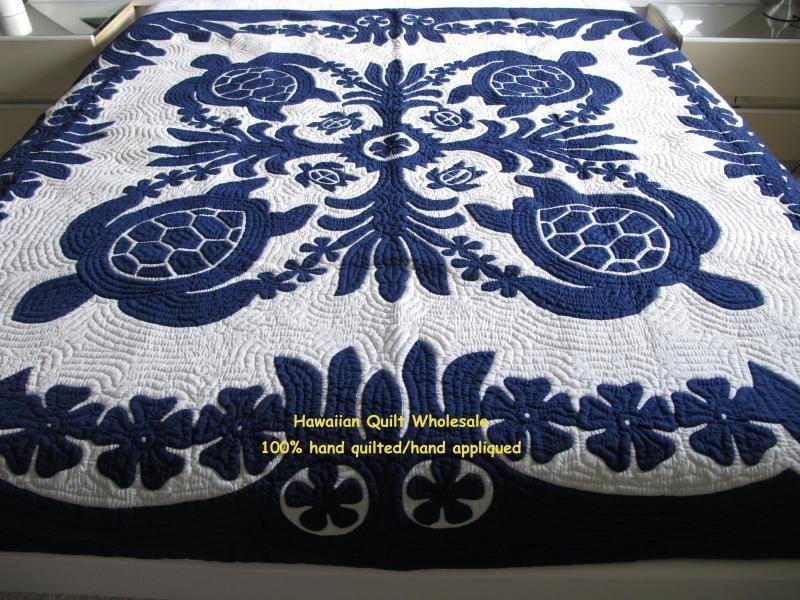 Hawaiian Quilt Wholesale- honu bedspread More | Quilt Hawaiin ...