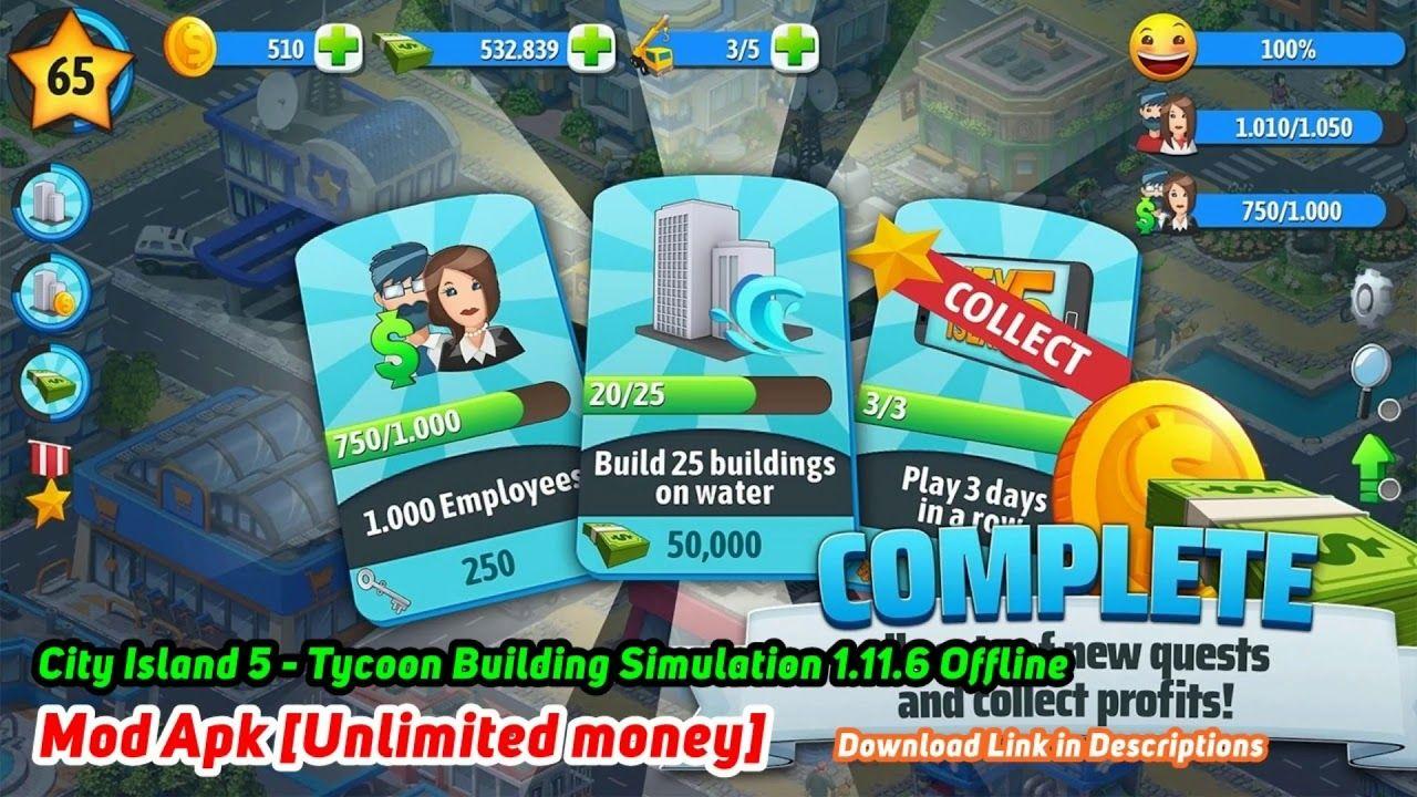 City Island 5 Tycoon Building Simulation 1.11.6 Offline