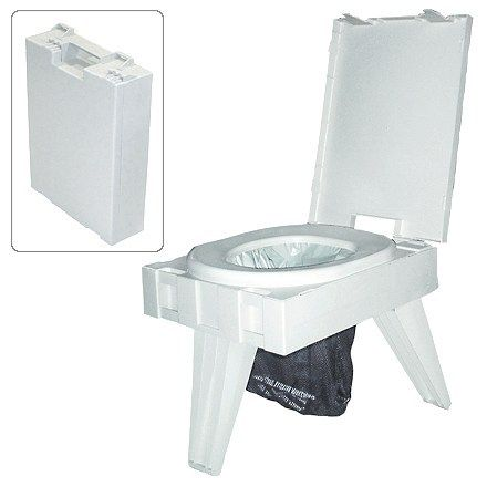 We All Have To Go Why Not In Comfort Camping Toilet