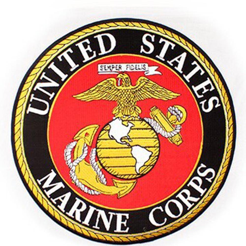 eee6f4e1381cd USMC Insignia Rocker Back Patch (10 inch) | MC patches | Marine ...