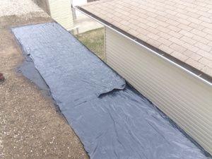 Flat Roof Tar And Gravel Repair