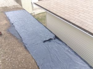 Tar And Gravel Flat Roof Repairs Edmonton Alberta To Residential Home Flat Roof Repair Roof Repair Flat Roof