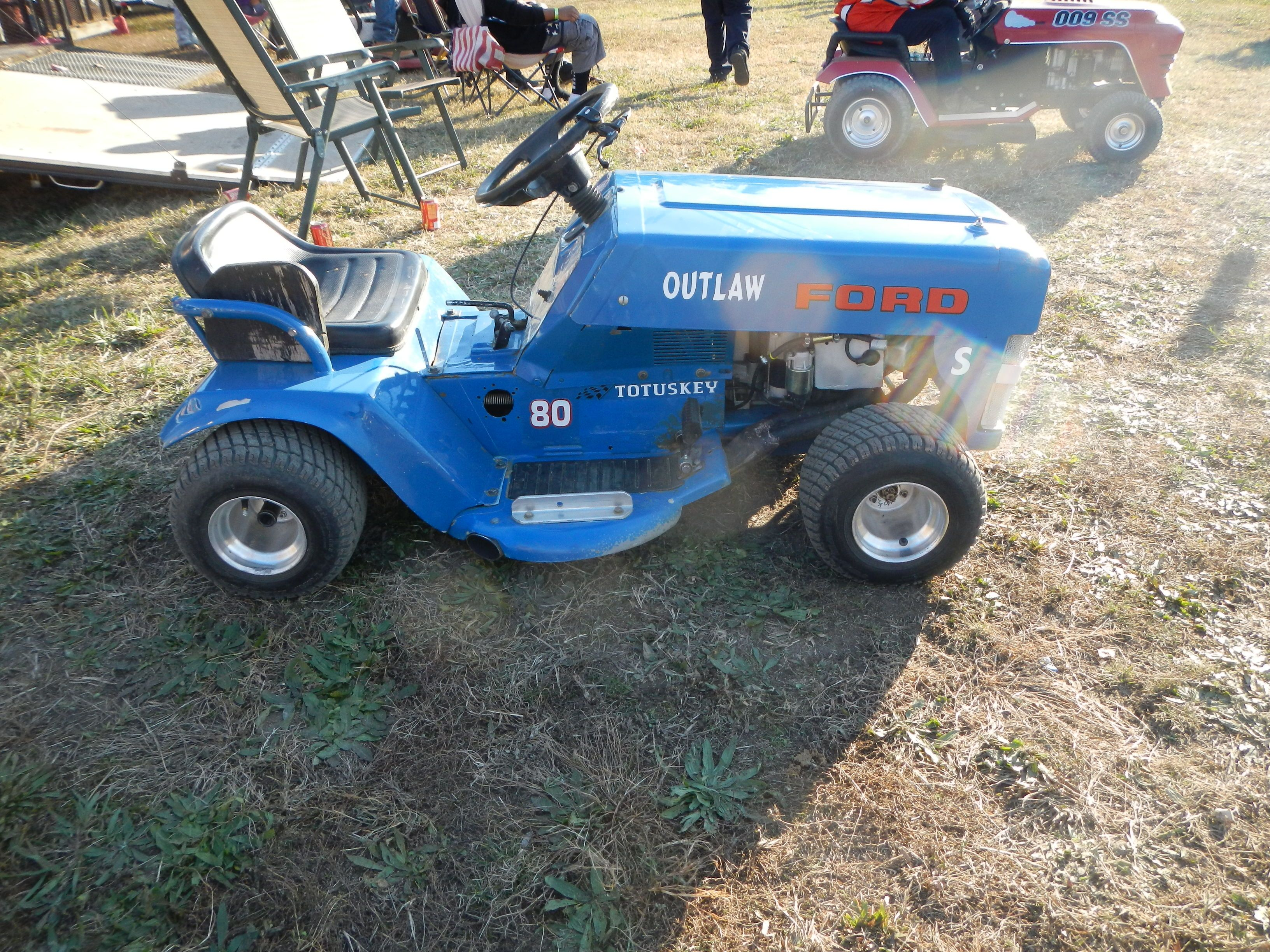 Suped Up Lawn Mower For Racing With The Virginia Lawn Mower Racing - Suped up