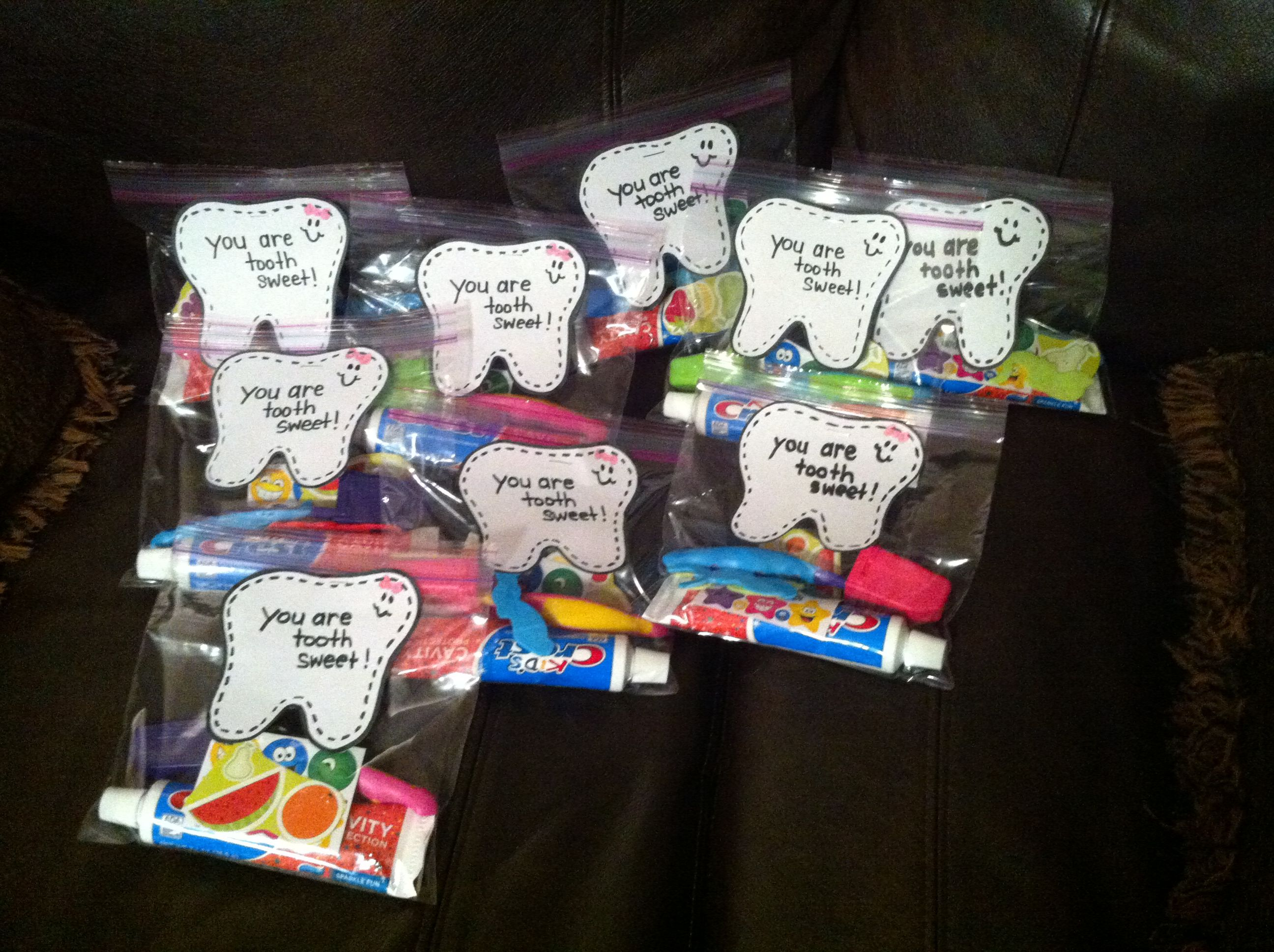 Dental Health Week Goobag To Give The Kids