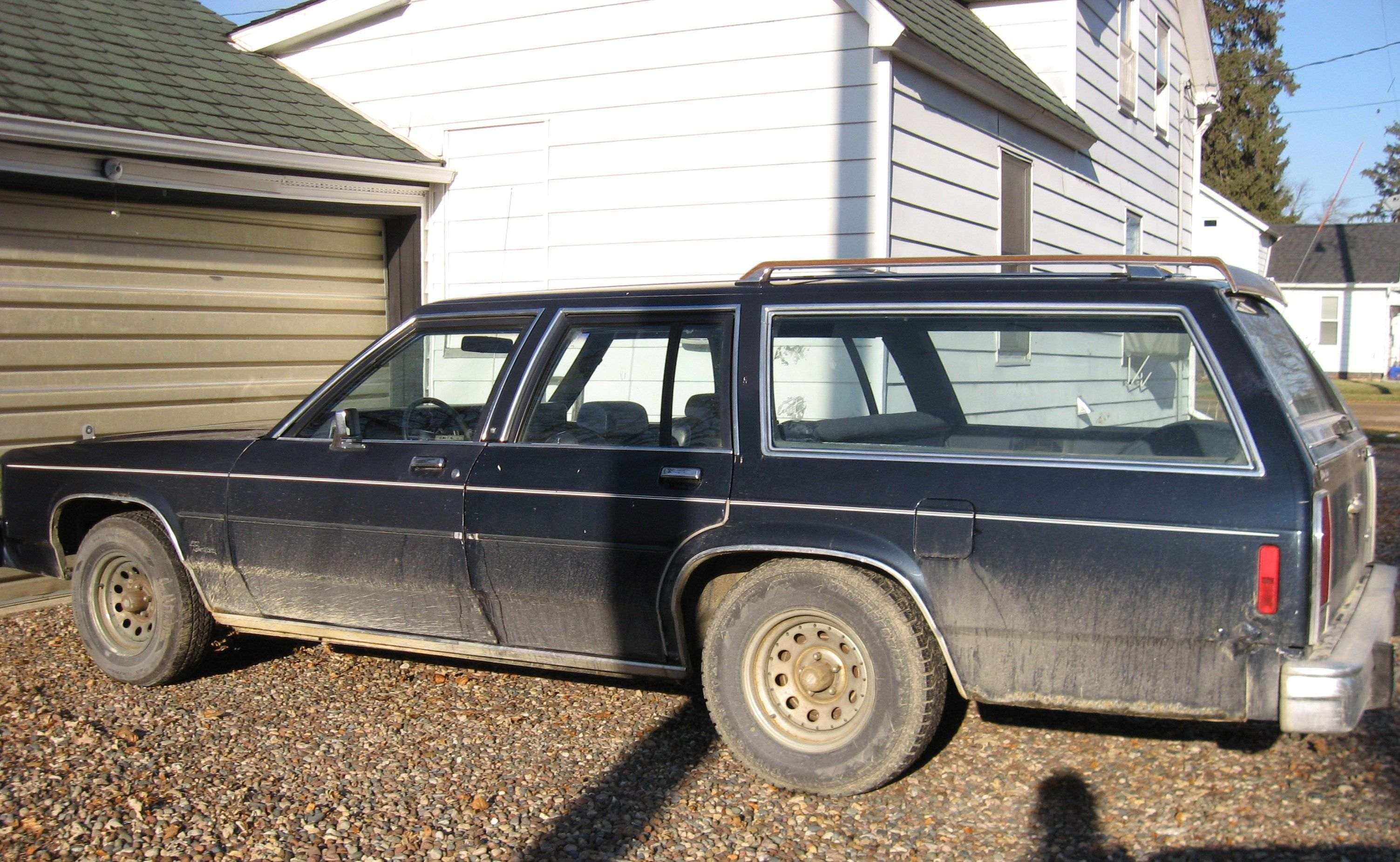 My 1985 Ford Ltd Crown Victoria Country Squire Station Wagon Ford Ltd Station Wagon Wagon