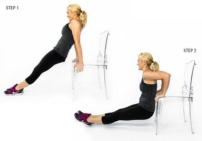 Chair Dip  sc 1 st  Pinterest & Chair Dip | Pinterest | Dips Ejercicio and Workout motivation