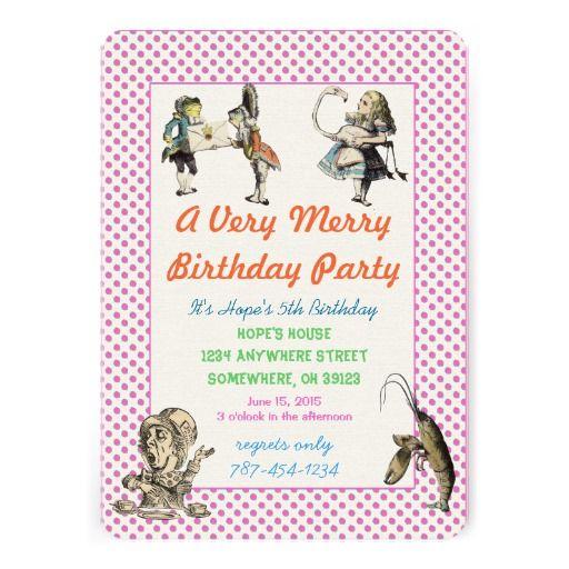 Alice In Wonderland Birthday Quotes